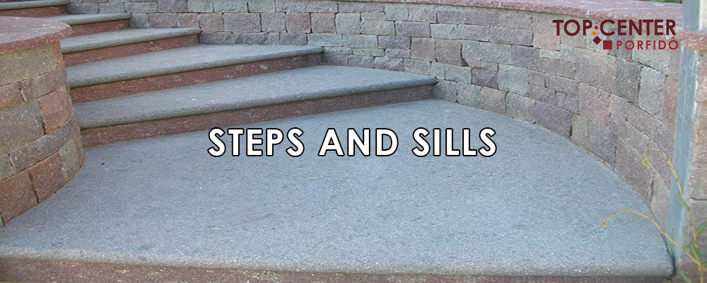 STEPS AND SILLS